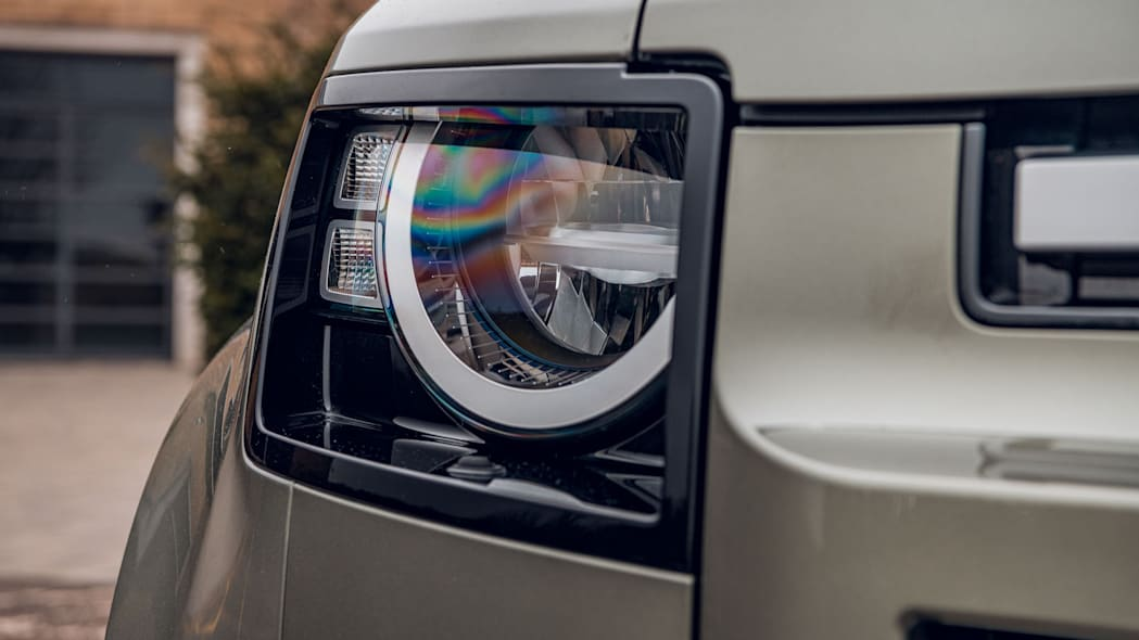 2020 Land Rover Defender 110 headlight