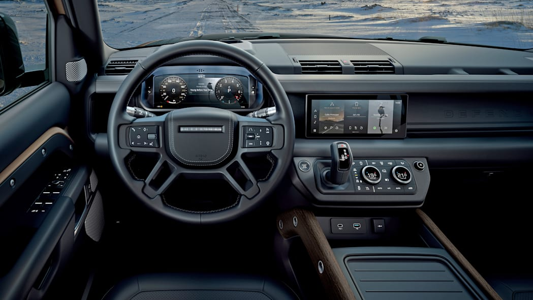 2020 Land Rover Defender 110 driver view