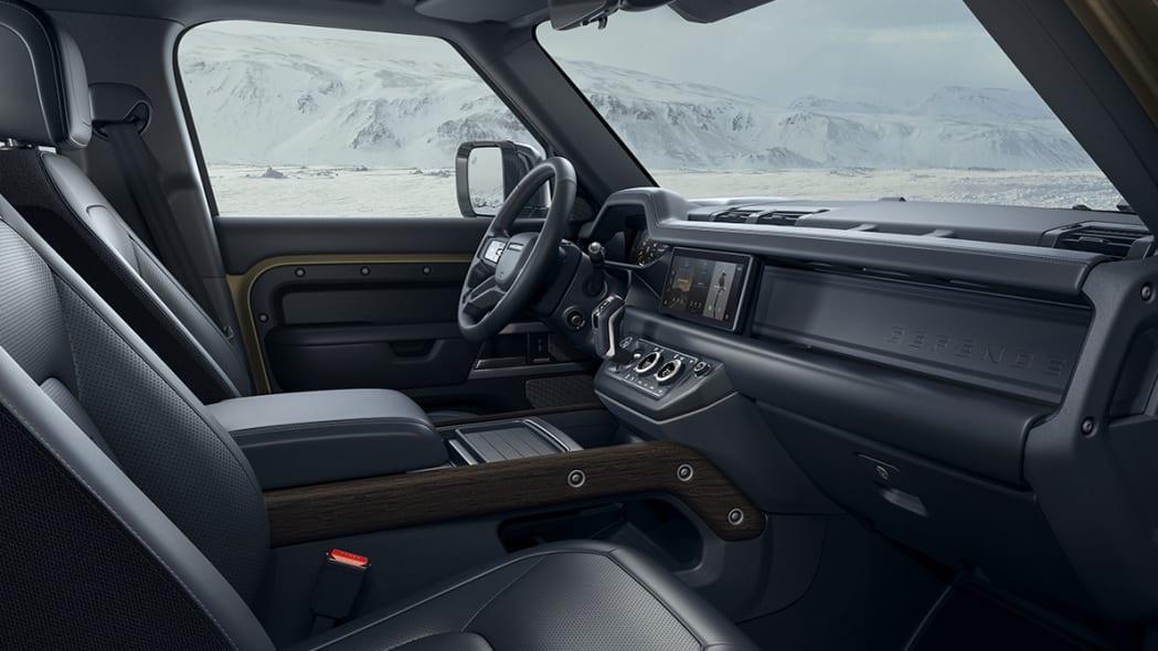 2020 Land Rover Defender 110 front interior
