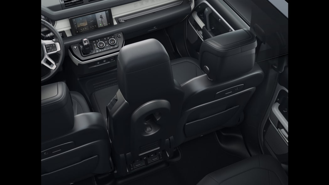 2020 Land Rover Defender 110 front seat 2