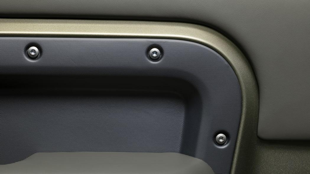 2020 Land Rover Defender 110 interior detail 1