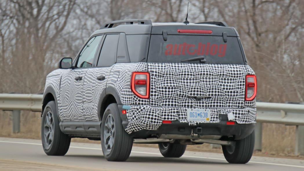 Ford Bronco Sport prototype