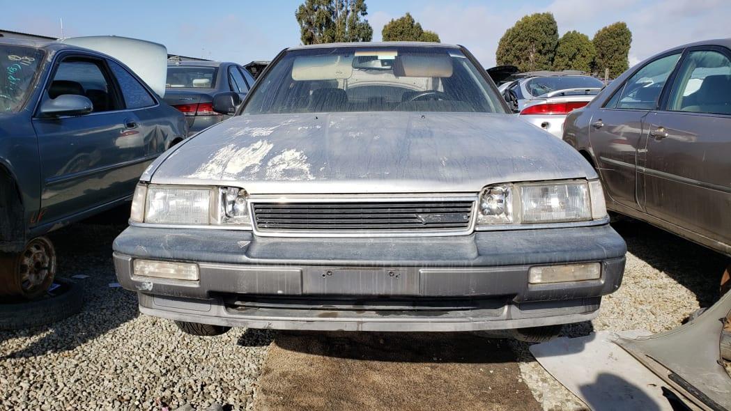 22 - 1987 Acura Legend in California Junkyard - photo by Murilee Martin