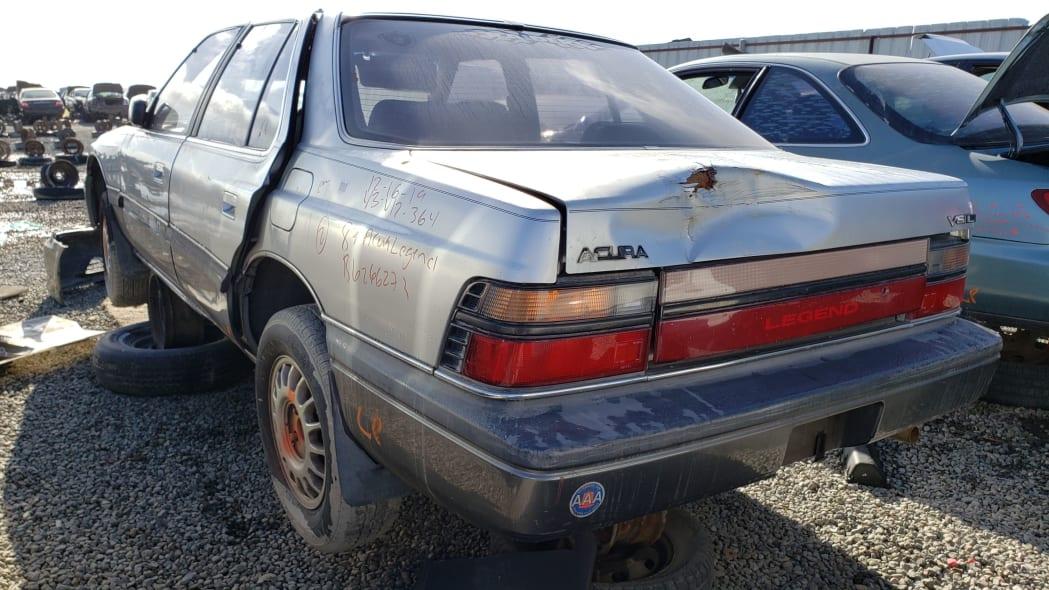 35 - 1987 Acura Legend in California Junkyard - photo by Murilee Martin