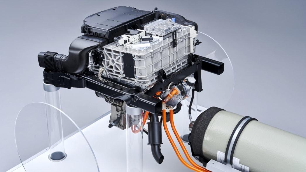 BMW i Hydrogen Next powertrain