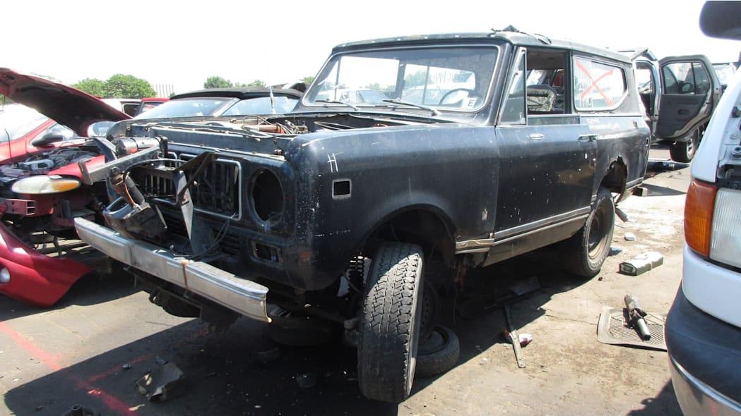 00 - 1973 IHC Scout in Colorado Junkyard - photo by Murilee Martin