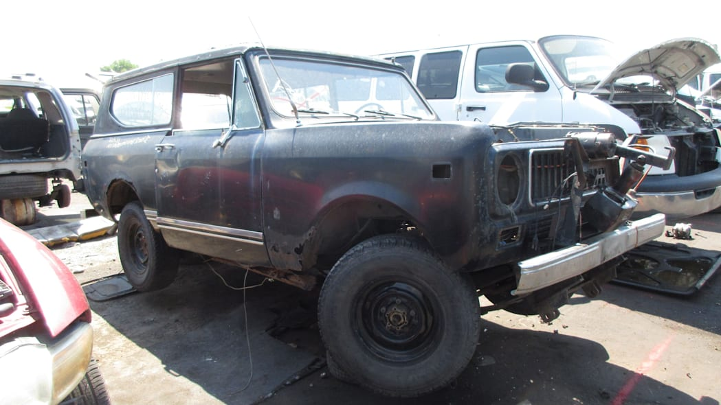 22 - 1973 IHC Scout in Colorado Junkyard - photo by Murilee Martin
