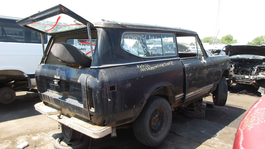 29 - 1973 IHC Scout in Colorado Junkyard - photo by Murilee Martin