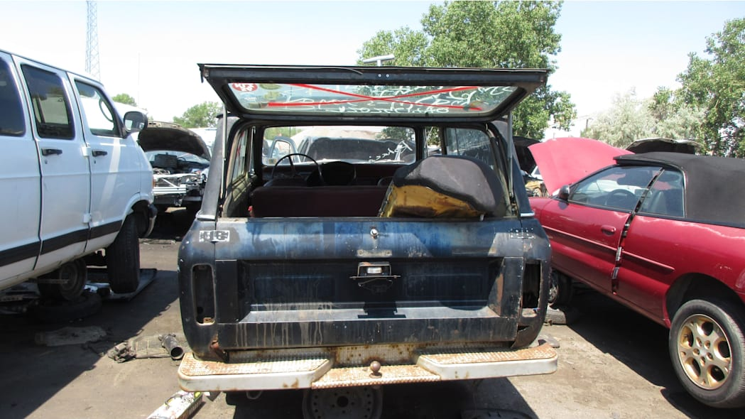 31 - 1973 IHC Scout in Colorado Junkyard - photo by Murilee Martin