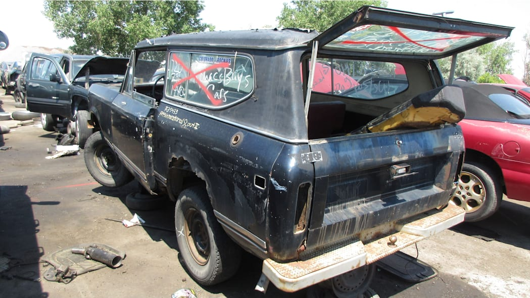 33 - 1973 IHC Scout in Colorado Junkyard - photo by Murilee Martin