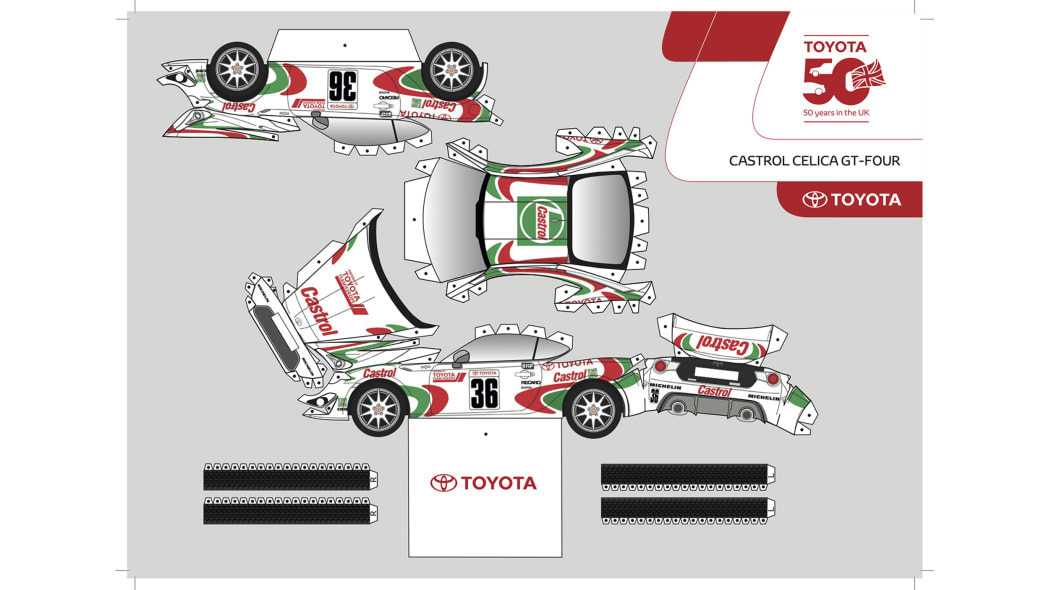 Paper Toyota GT86 1