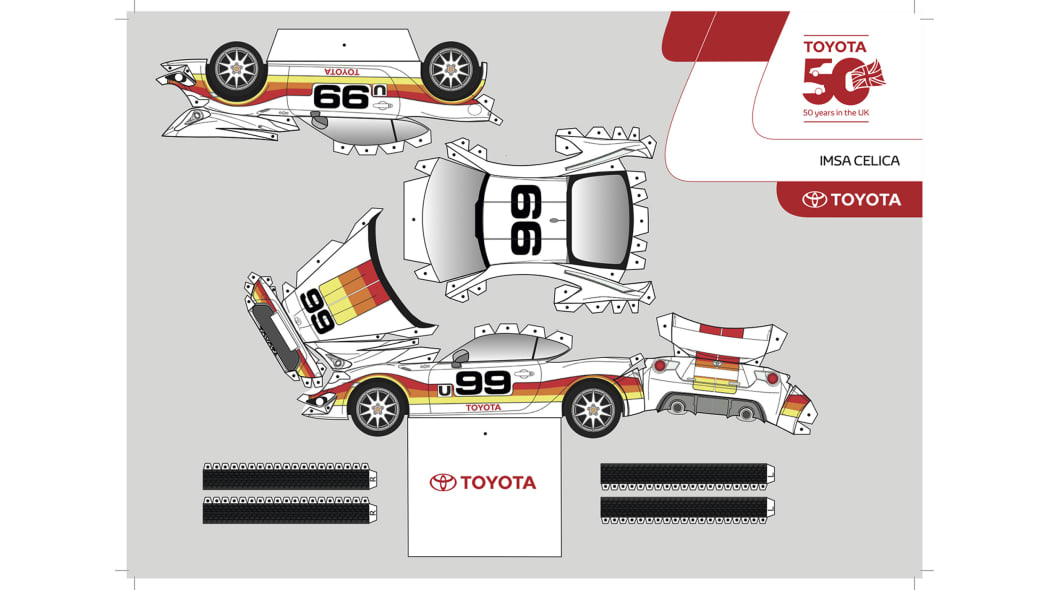 Paper Toyota GT86 3