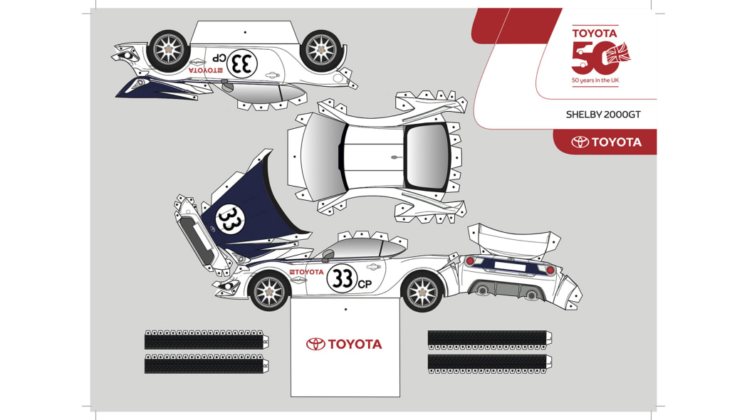 Paper Toyota GT86 5