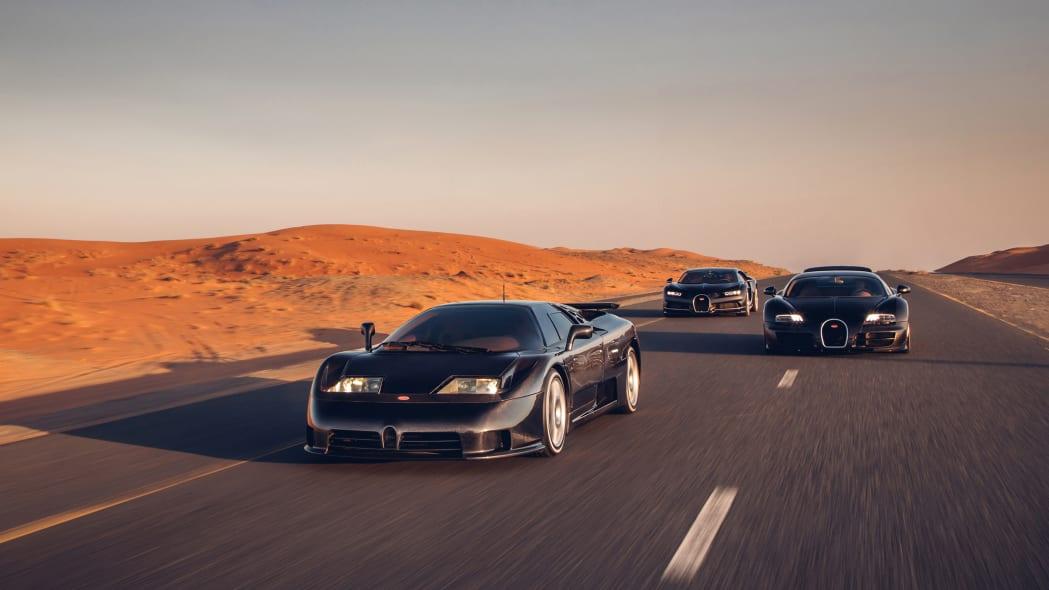 Bugatti EB110-Veyron-Chiron 3
