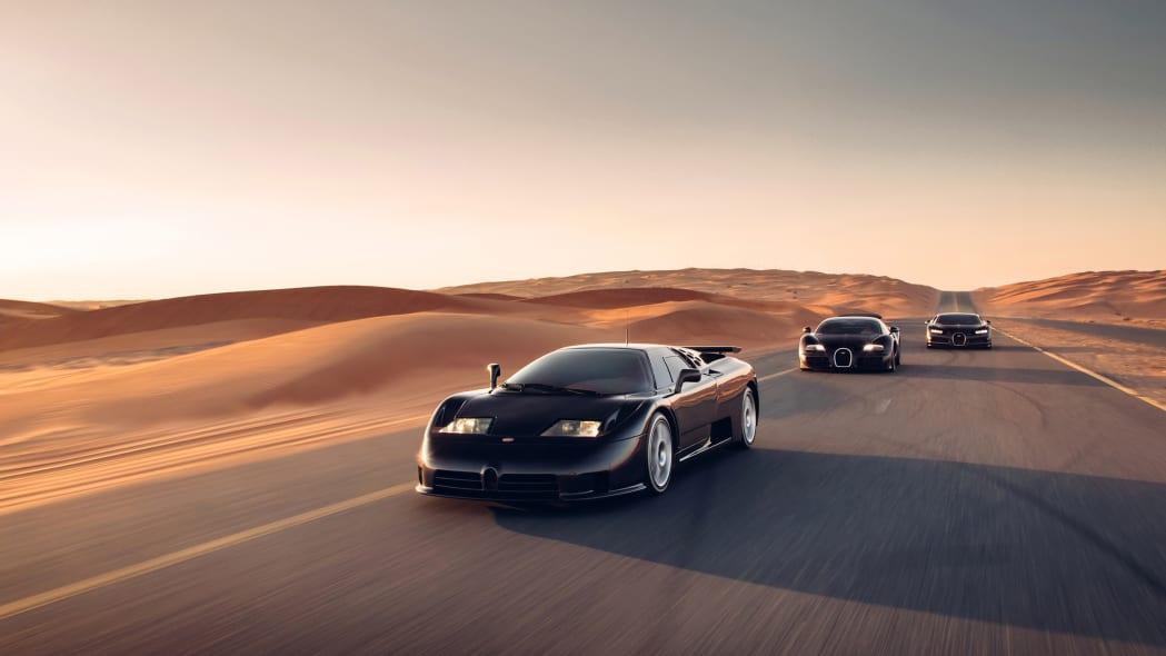 Bugatti EB110-Veyron-Chiron 4