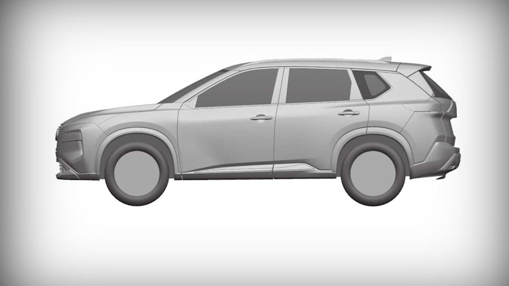 Nissan Rogue patent images