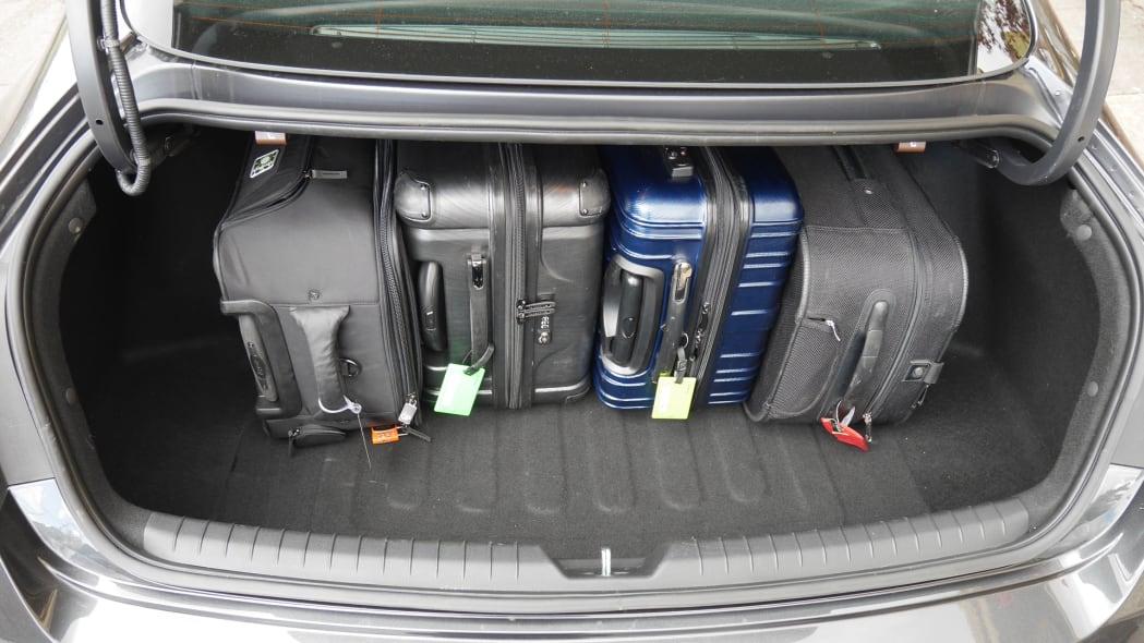 2020 Hyundai Sonata trunk 3