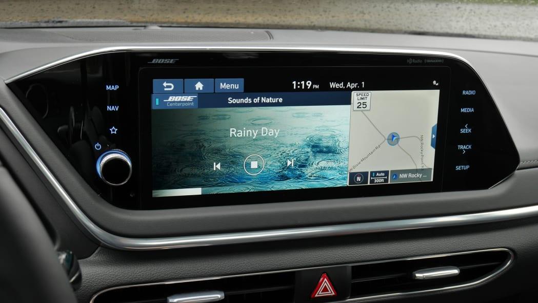 2020 Hyundai Sonata touchscreen 05