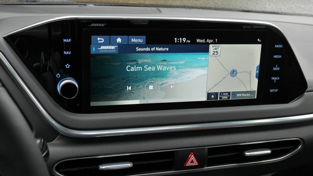 2020 Hyundai Sonata touchscreen 06