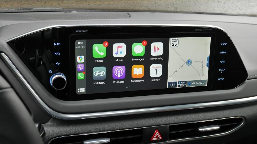 2020 Hyundai Sonata touchscreen 08
