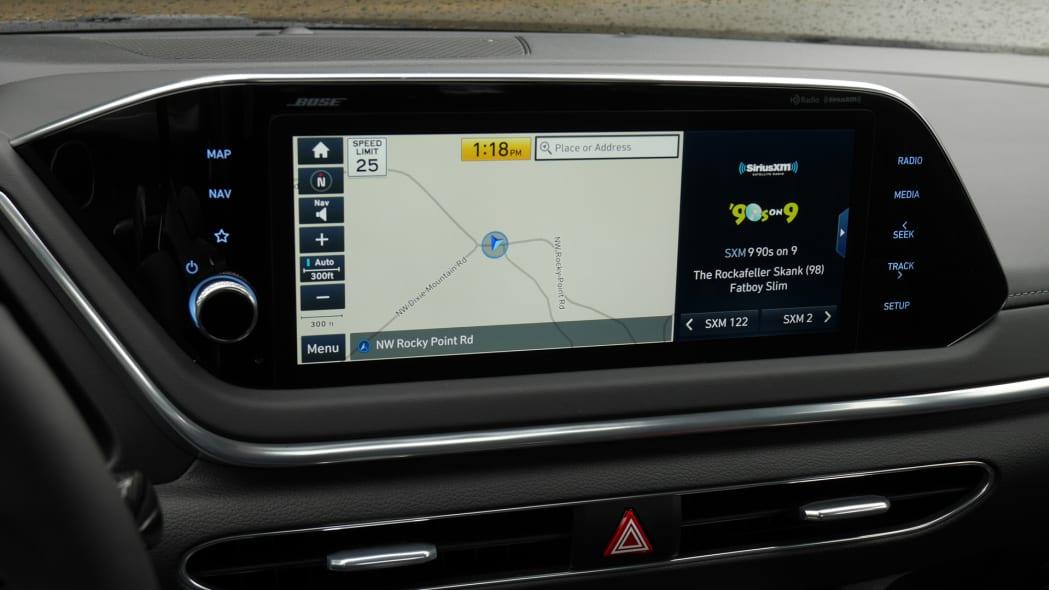 2020 Hyundai Sonata touchscreen 09