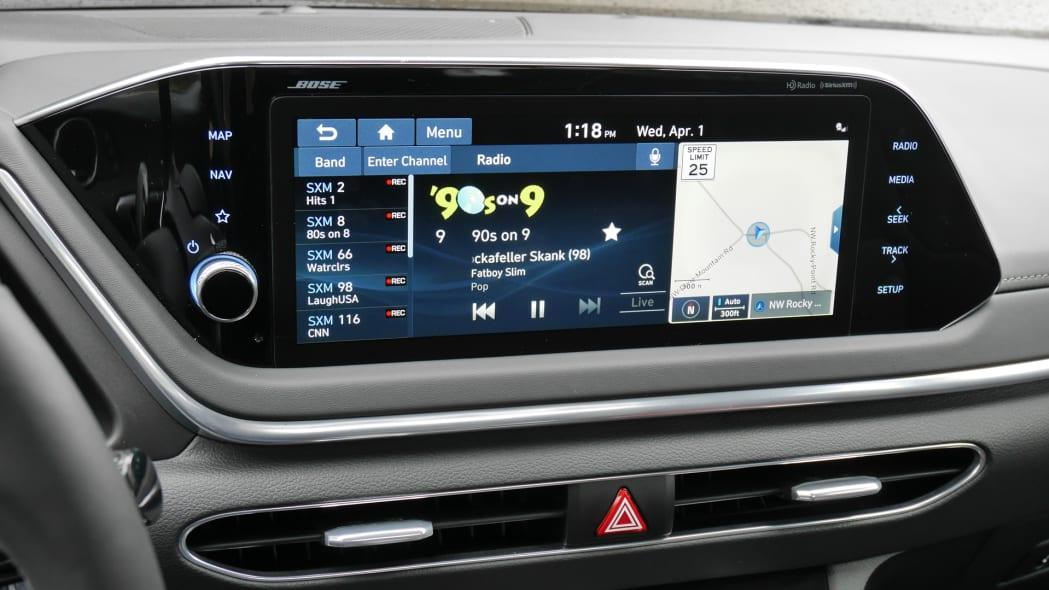 2020 Hyundai Sonata touchscreen 10