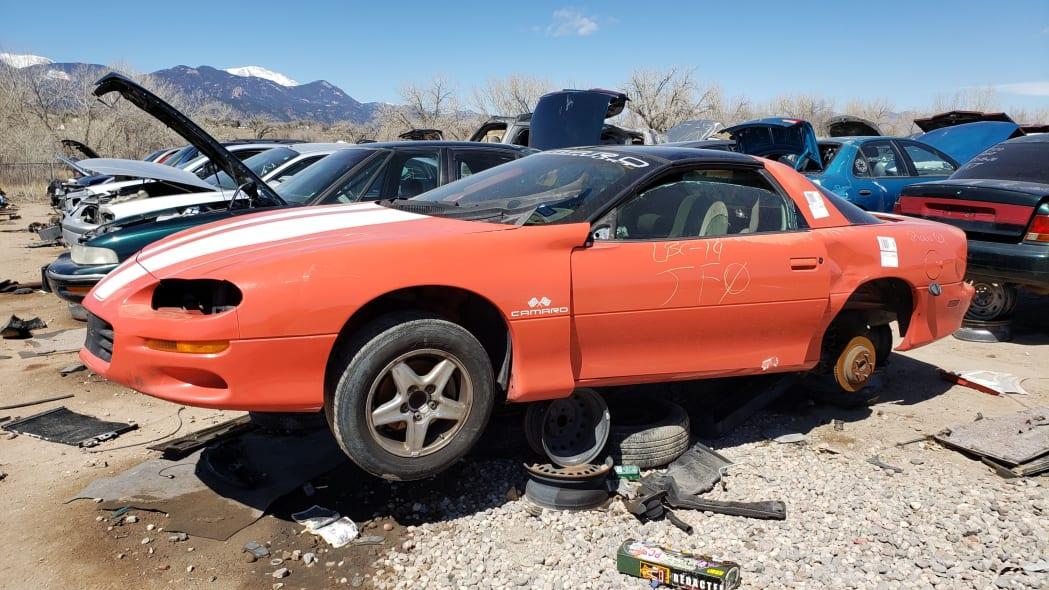 20 - 1999 Chevrolet Camaro in Colorado Junkyard - photo by Murilee Martin