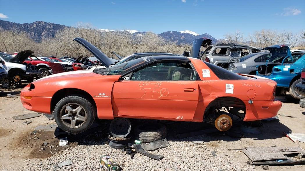 22 - 1999 Chevrolet Camaro in Colorado Junkyard - photo by Murilee Martin