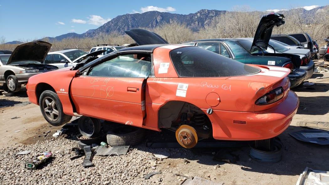 24 - 1999 Chevrolet Camaro in Colorado Junkyard - photo by Murilee Martin