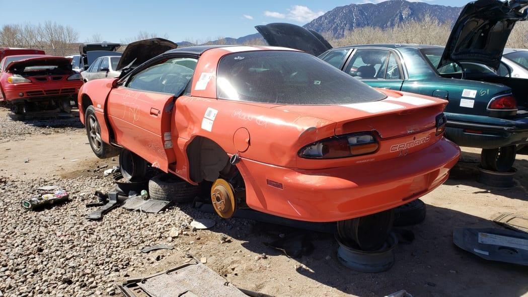 26 - 1999 Chevrolet Camaro in Colorado Junkyard - photo by Murilee Martin