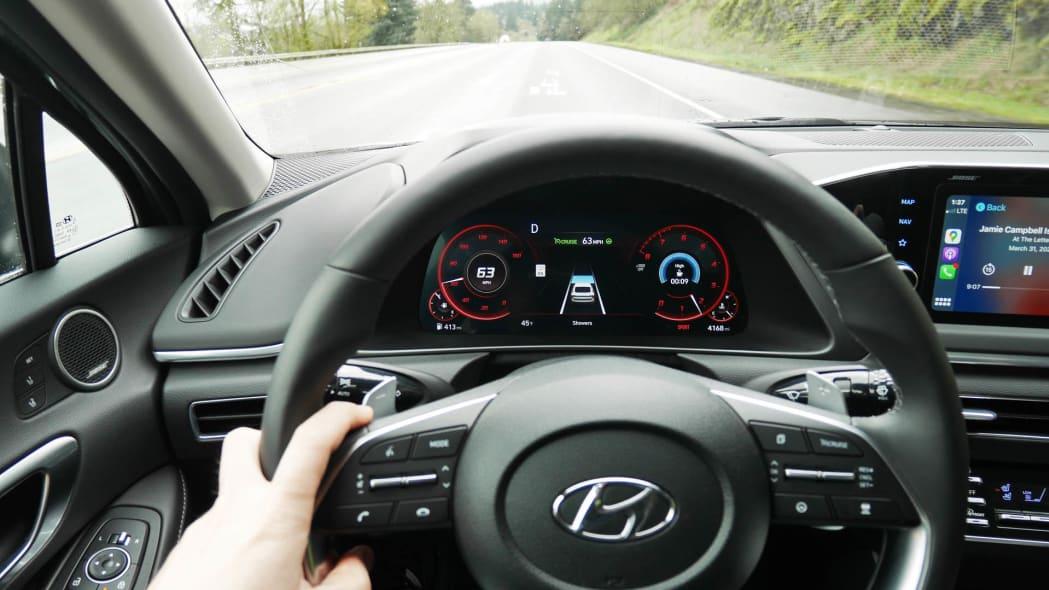 2020 Hyundai Sonata driver tech 1