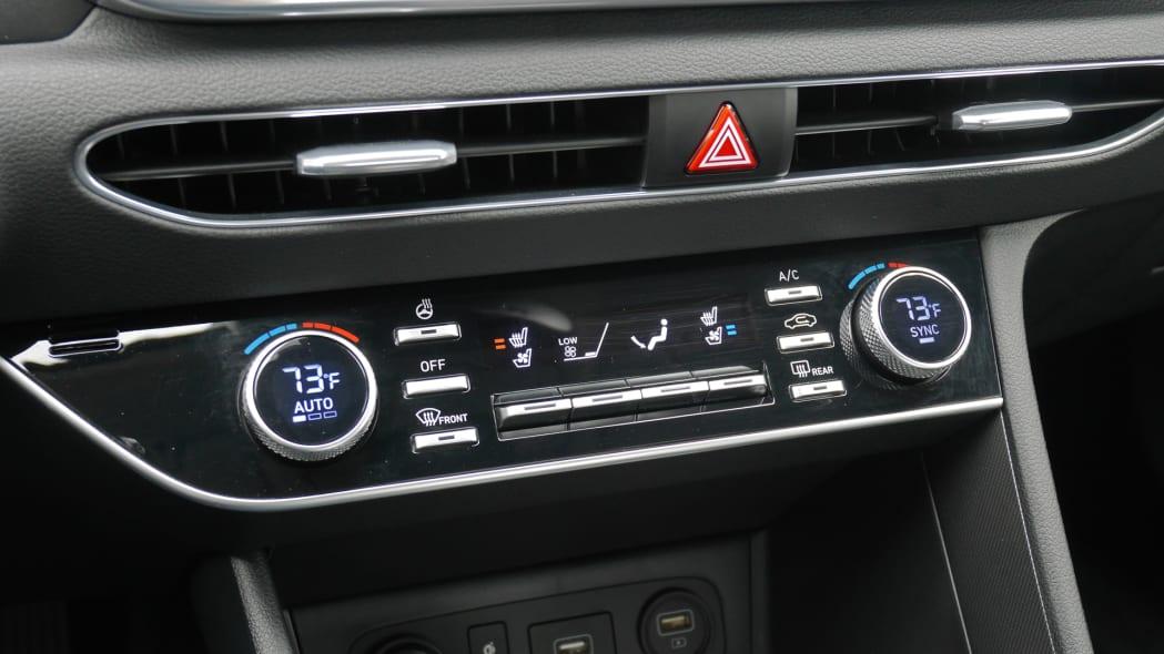 2020 Hyundai Sonata Limited HVAC
