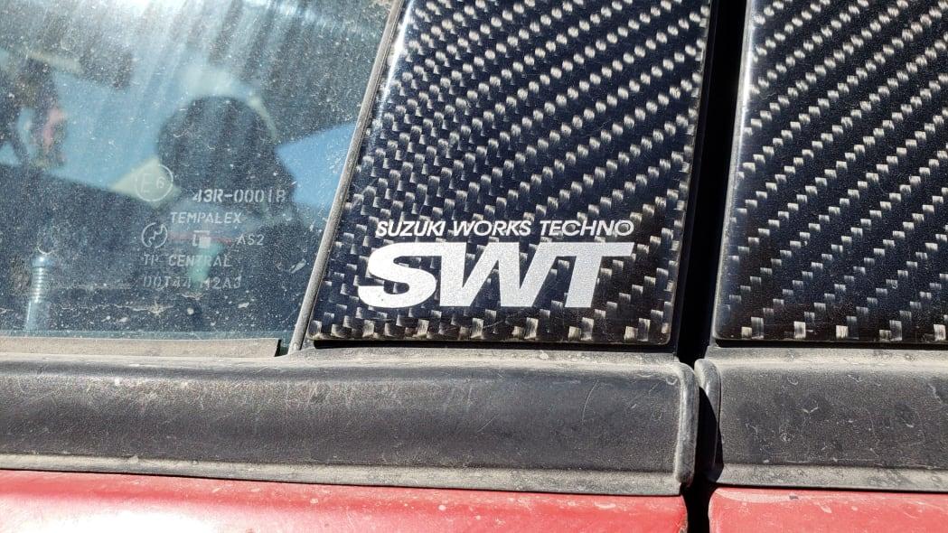 08 - 2005 Suzuki Aerio SWT in Colorado Junkyard - photo by Murilee Martin