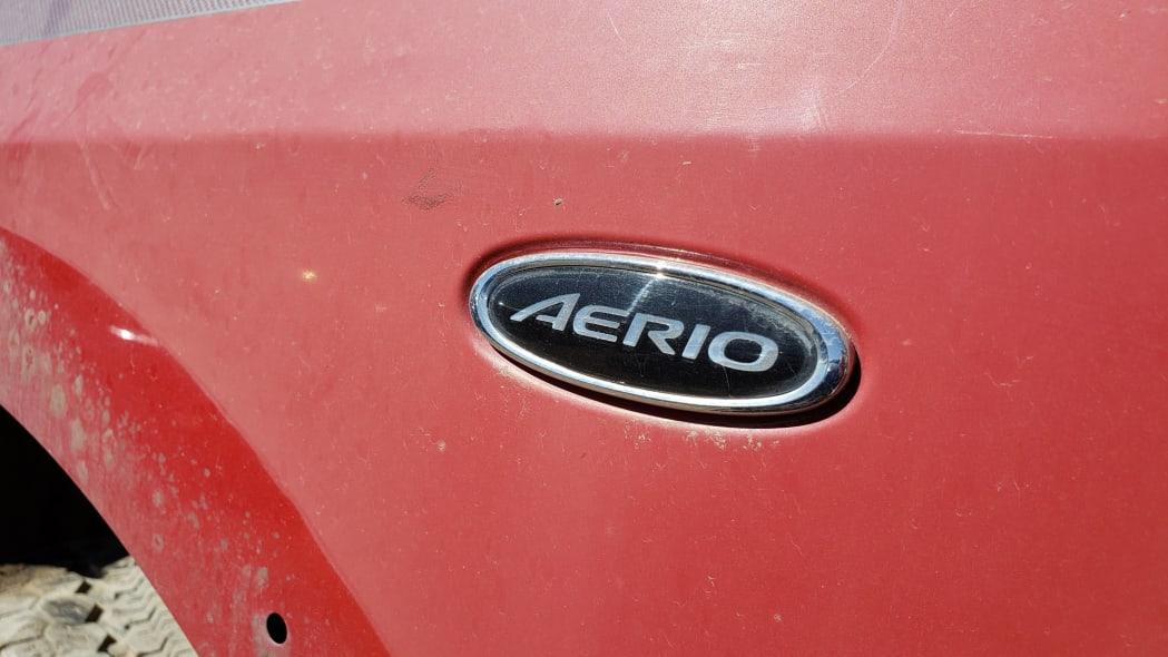 09 - 2005 Suzuki Aerio SWT in Colorado Junkyard - photo by Murilee Martin