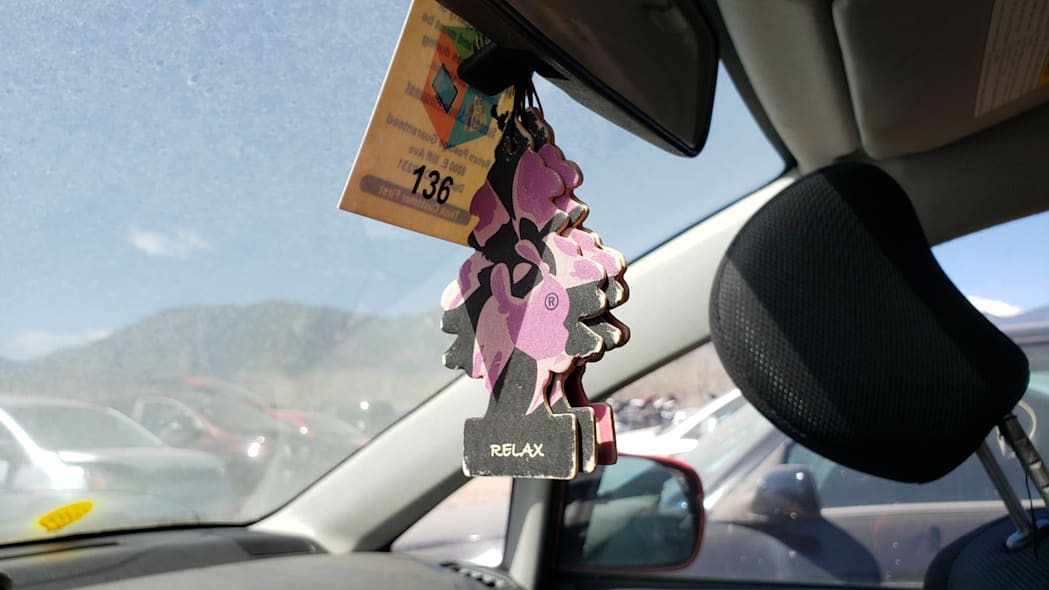 18 - 2005 Suzuki Aerio SWT in Colorado Junkyard - photo by Murilee Martin