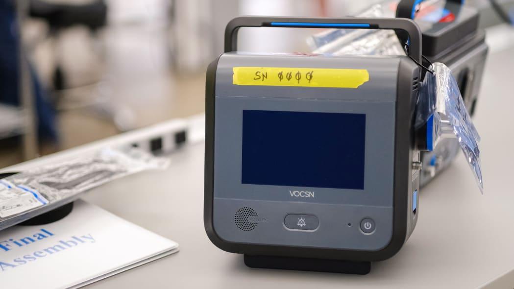 GM Kokomo Operations Builds Ventec Life Systems Ventilators