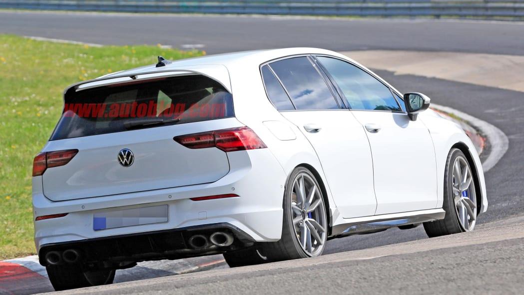 2021 VW Golf R Nurburgring