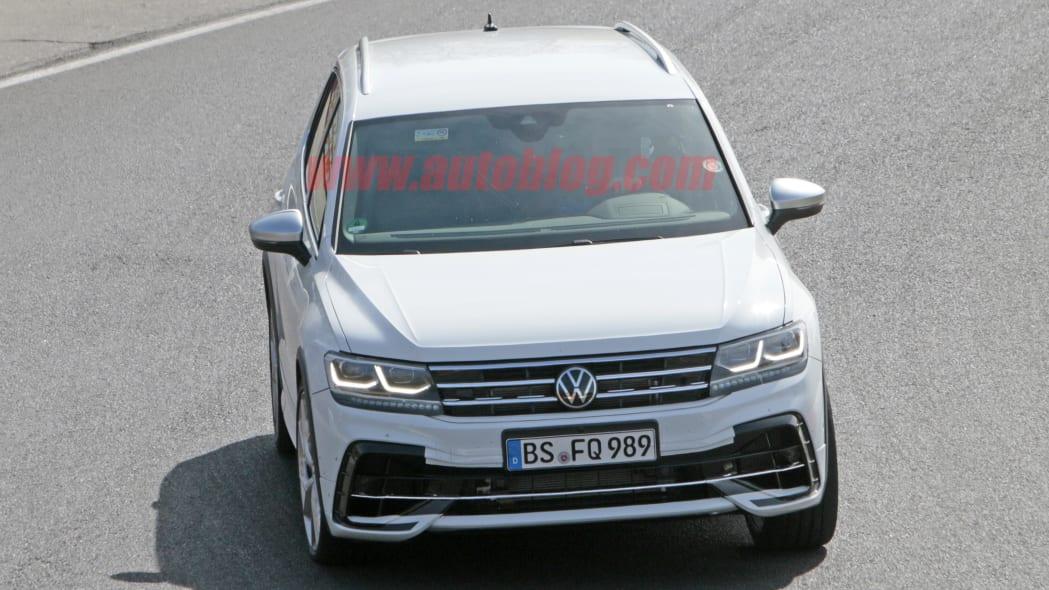 VW Tiguan R spied