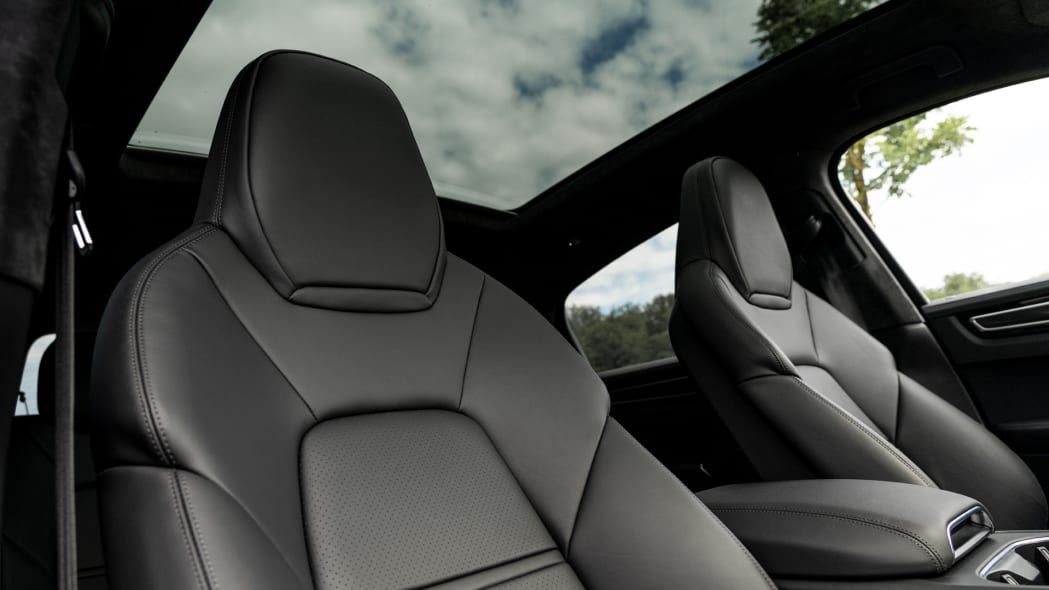 2020 Porsche Cayenne Turbo Coupe glass roof