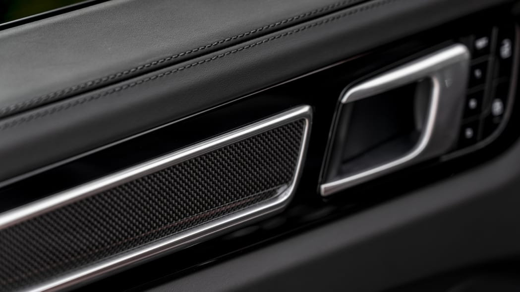 2020 Porsche Cayenne Turbo Coupe interior detail