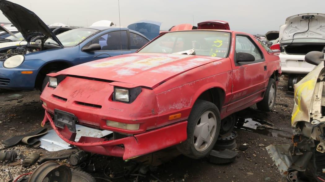 00 - 1990 Dodge Daytona Shelby in Colorado Junkyard - photo by Murilee Martin