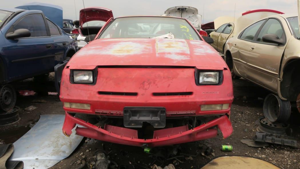25 - 1990 Dodge Daytona Shelby in Colorado Junkyard - photo by Murilee Martin