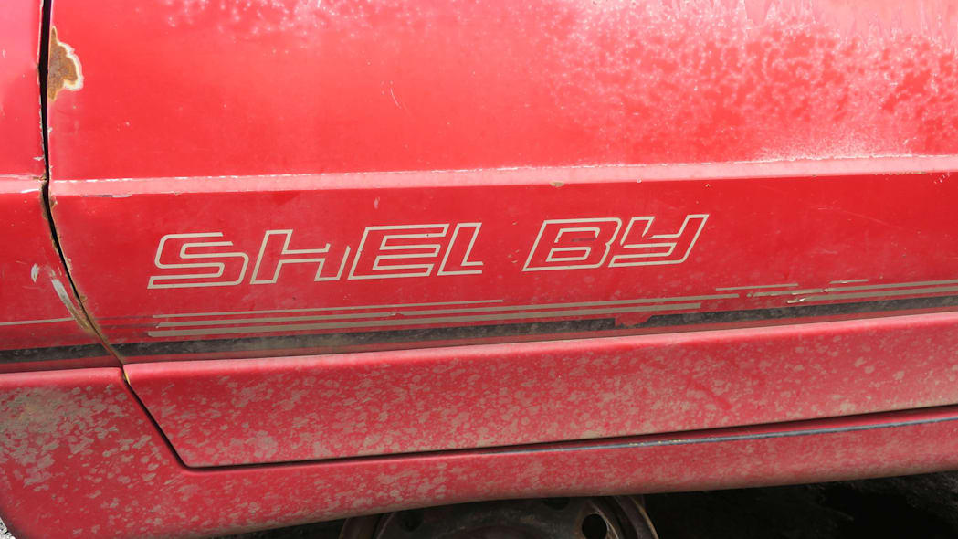 29 - 1990 Dodge Daytona Shelby in Colorado Junkyard - photo by Murilee Martin