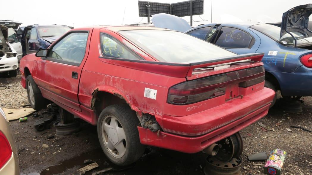 30 - 1990 Dodge Daytona Shelby in Colorado Junkyard - photo by Murilee Martin