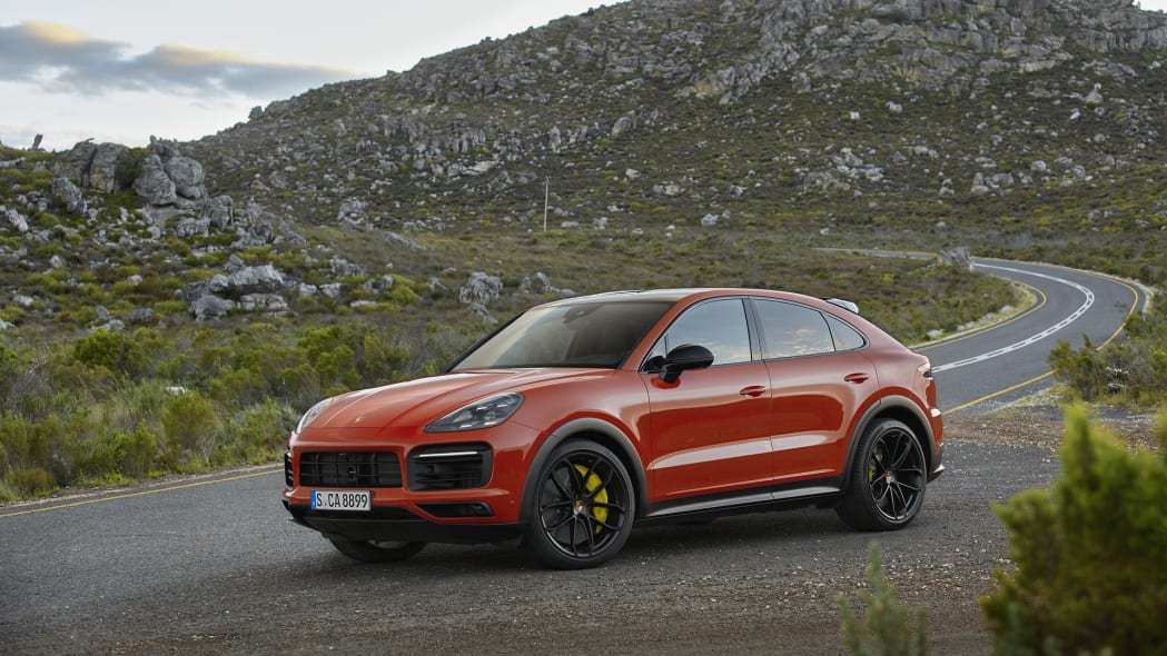 2020 Porsche Cayenne Turbo Coupe front 1