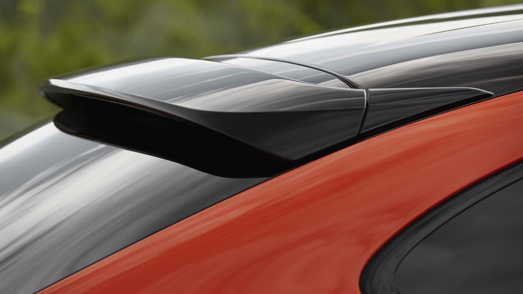 2020 Porsche Cayenne Turbo Coupe spoiler
