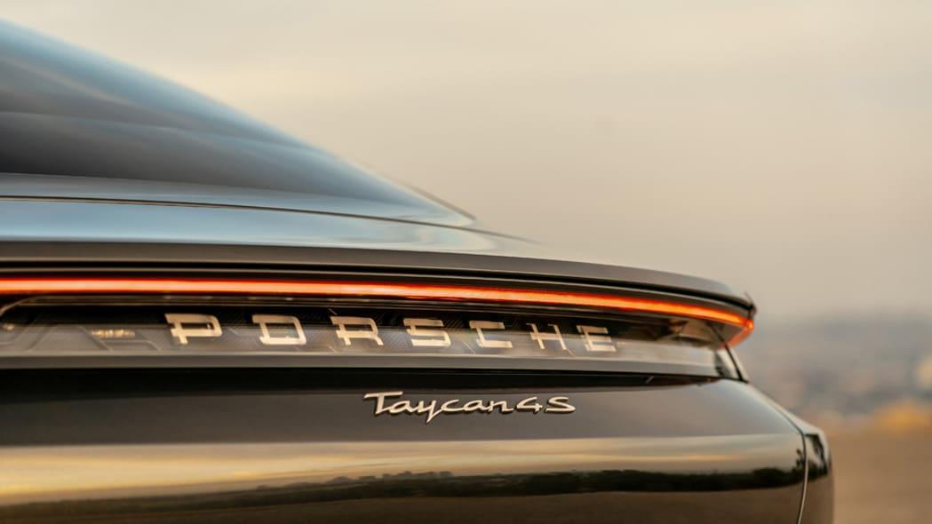 2020 Porsche Taycan 4S badge