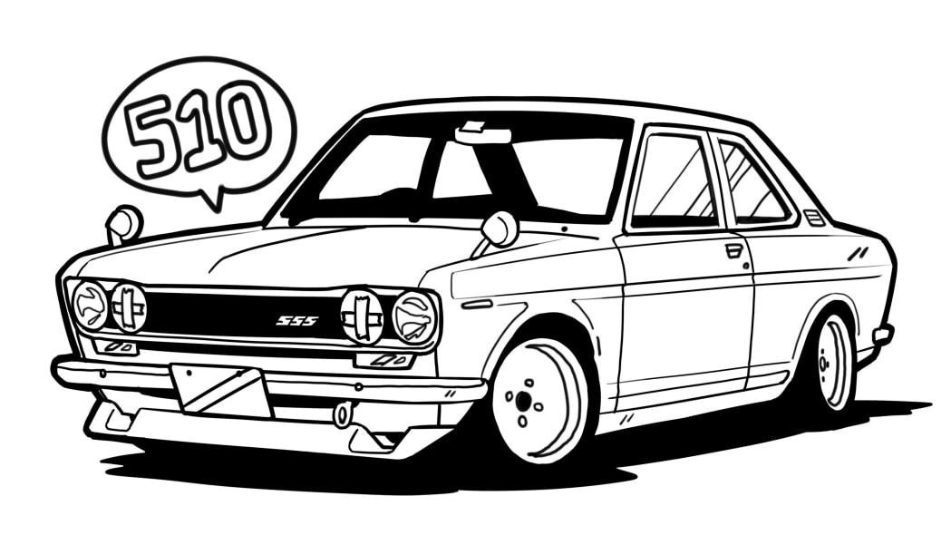 Nissan Bluebird SSS (510)