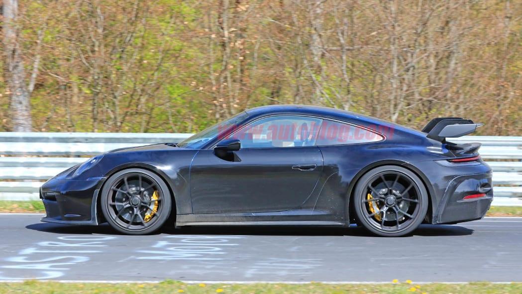 992 Porsche 911 GT3 spied
