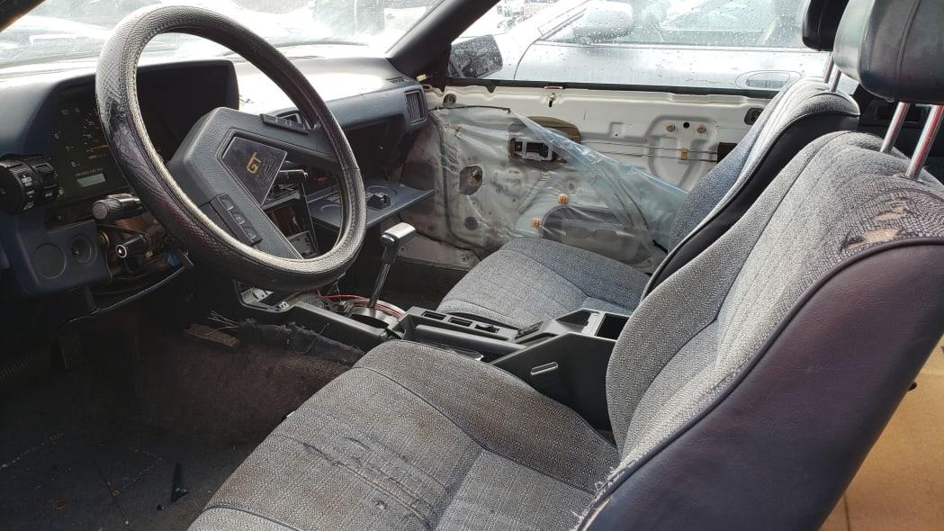 14 - 1983 Toyota Celica GT in California junkyard - photo by Murilee Martin